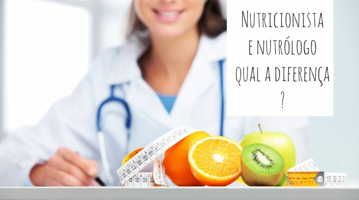 As diferenças entre Nutricionista e Nutrólogo