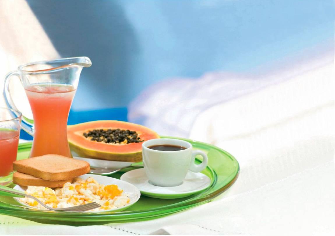 Café da manhã saudável para torcer pelo Brasil