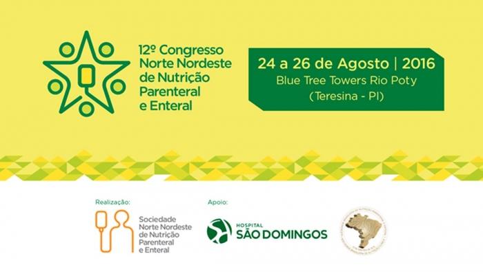 12º Congresso de Nutrição Parenteral e Enteral